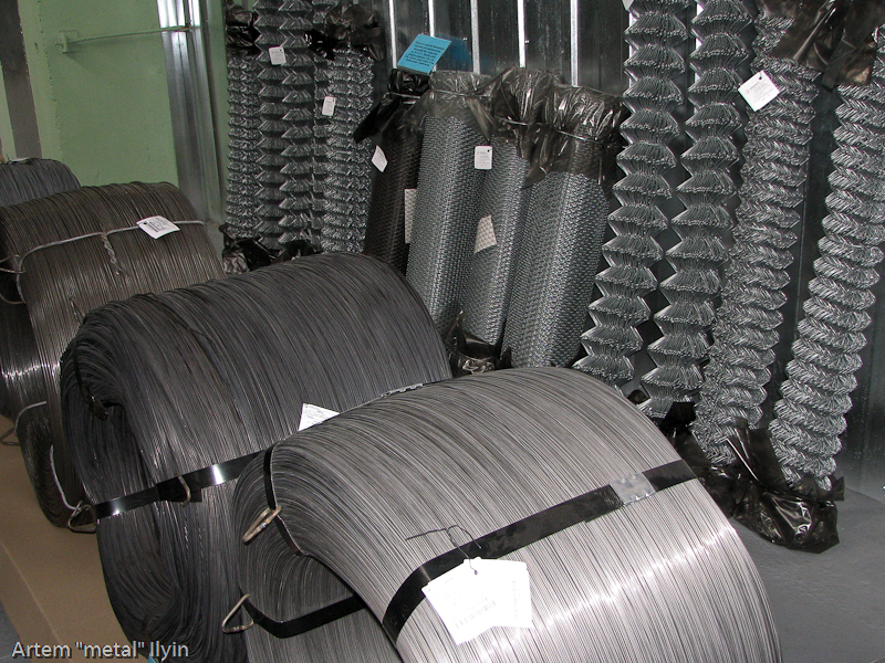 Продукция завода Днепрометиз