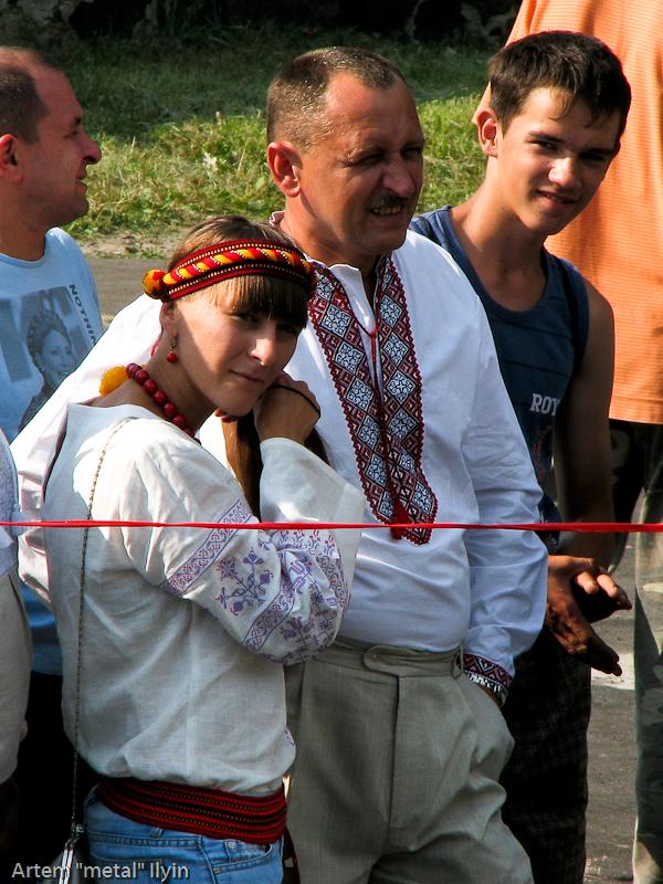 День Независимости Украины 2010 в Киверцах, Волынь