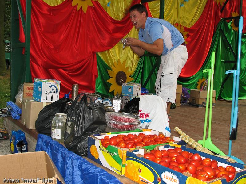 Призовой фонд городской лотереи. День Независимости Украины 2010 в Киверцах, Волынь