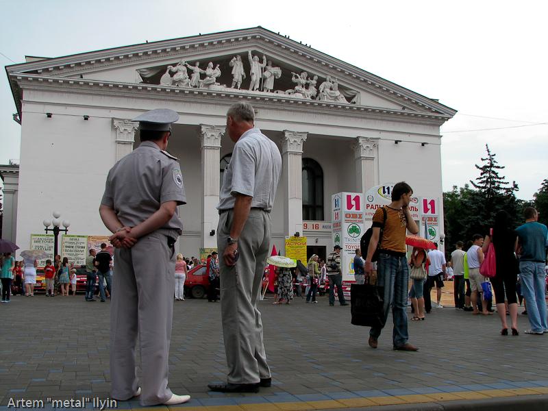 Впервые за четыре года Ралли Мариуполь стартовало с центральной площади города