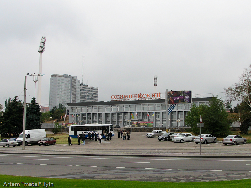 На РСК Олимпийский футбольный клуб Шахтер пробивался в элиту европейского футбола