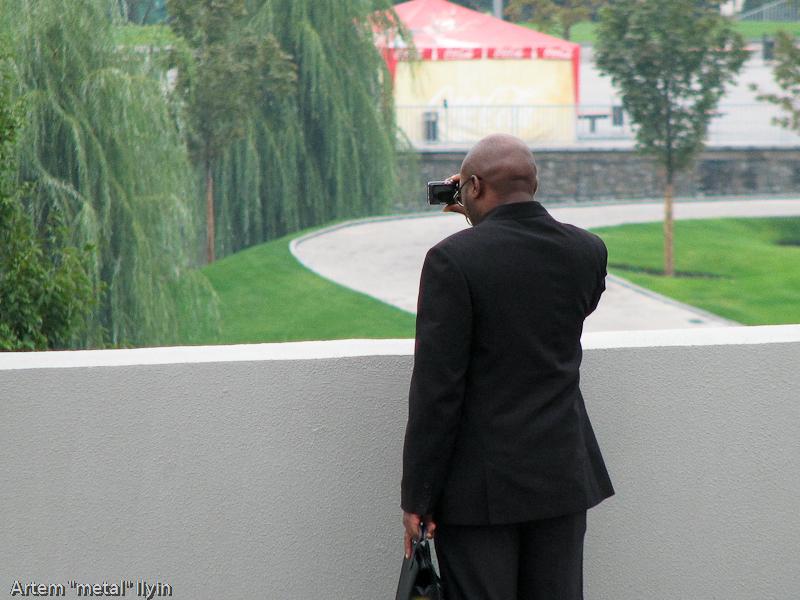 Иностранные туристы в Донецке