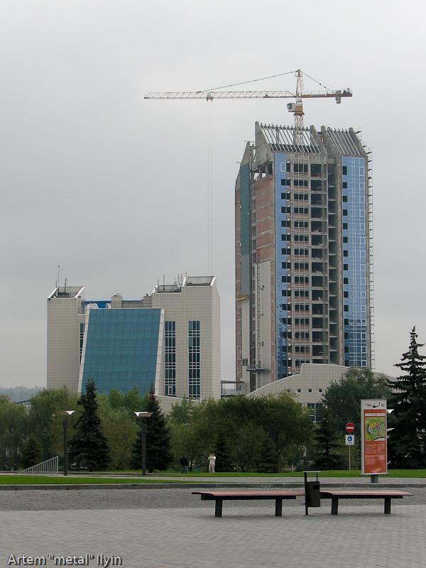 Гостиничный комплекс Виктория, Донецк, сентябрь 2010 года