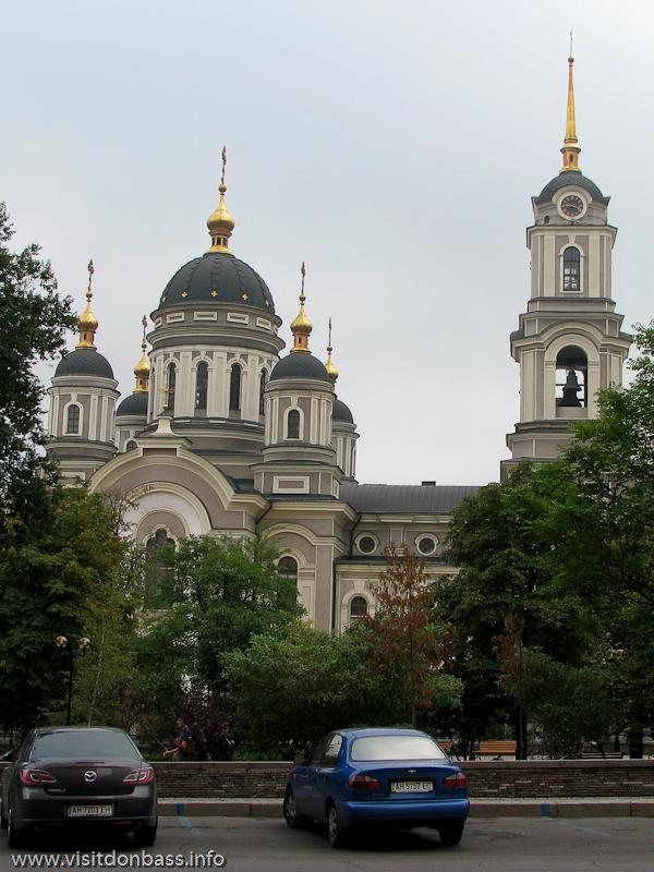 Спасо-Преображенский кафедральный собор в Донецке