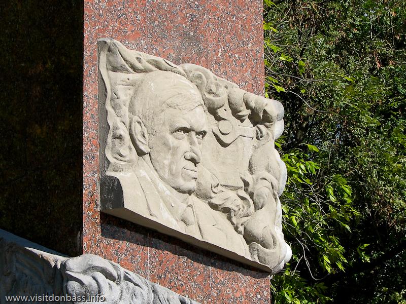 Владимира Бойко легко узнать даже в скульптурном изображении