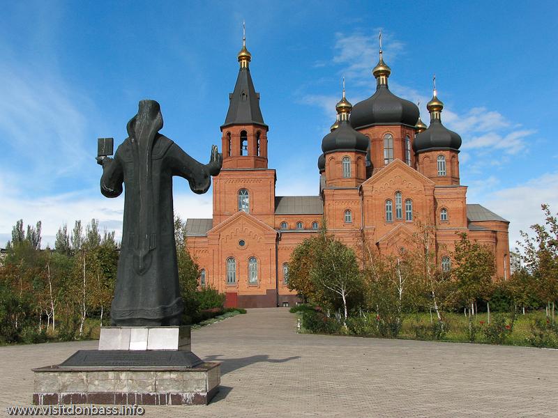 Памятник митрополиту Игнатию в Поживановской церкви