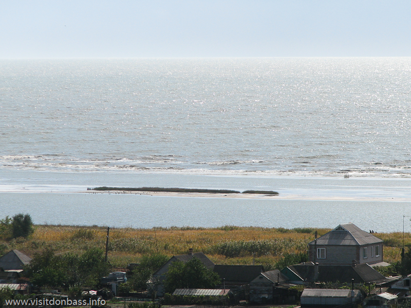 Прямо по курсу - теплое Азовское море