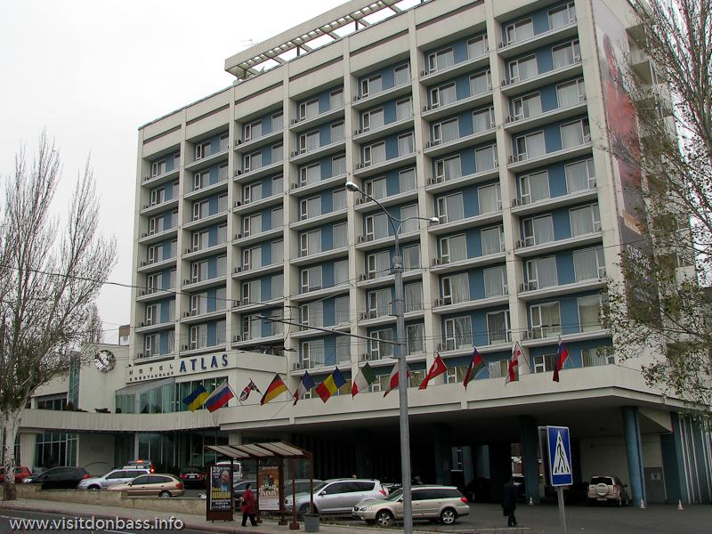фото Ramada Donetsk / Гостиница Атлас, Донецк