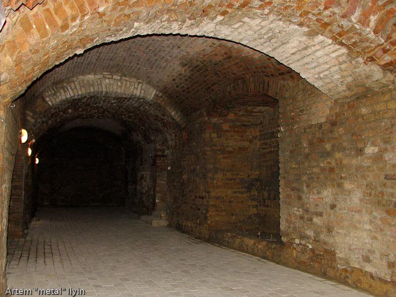 Крипта - место захоронения князей в замке Любарта в Луцке
