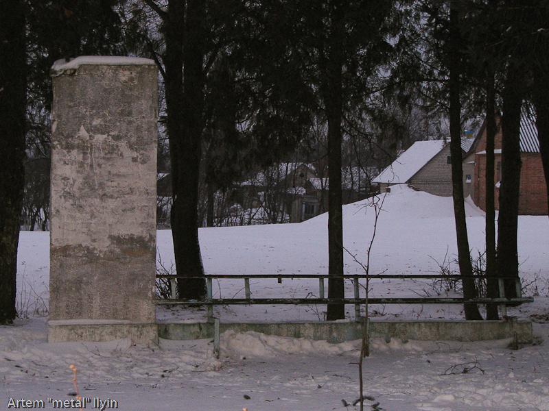 Не идентифицированный памятник в селе Пиддубцы Волынской области около Луцка