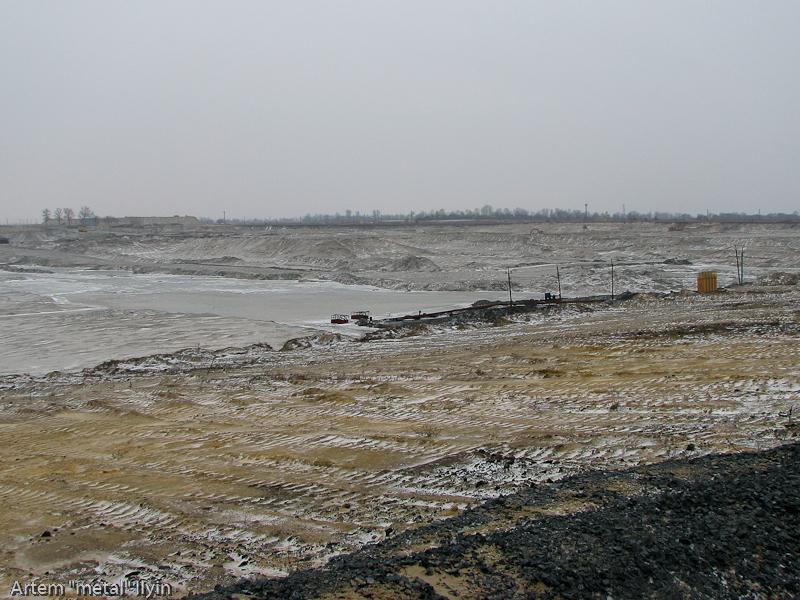 Промышленные насосы для откачки воды. Строительство Еристовского ГОКа, Комсомольск, Полтавская область