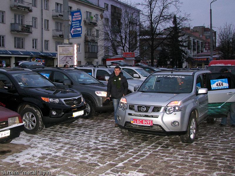 Буковель фестиваль полноприводных автомобилей, жд вокзал Ивано-Франковск