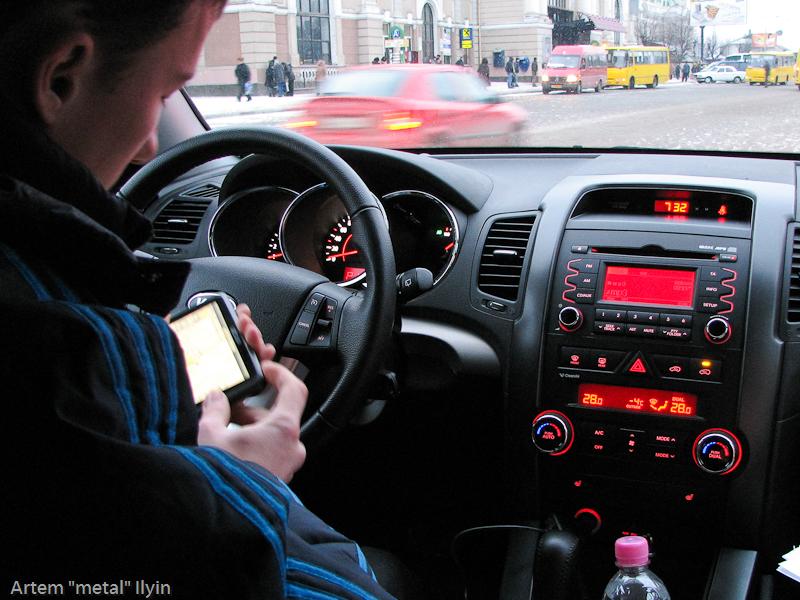 Буковель фестиваль полноприводных автомобилей, осваиваем GPS-навигатор