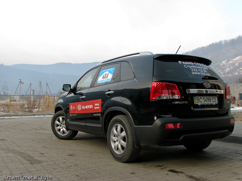 Буковель фестиваль полноприводных автомобилей, Карпаты - место для тест-драйва