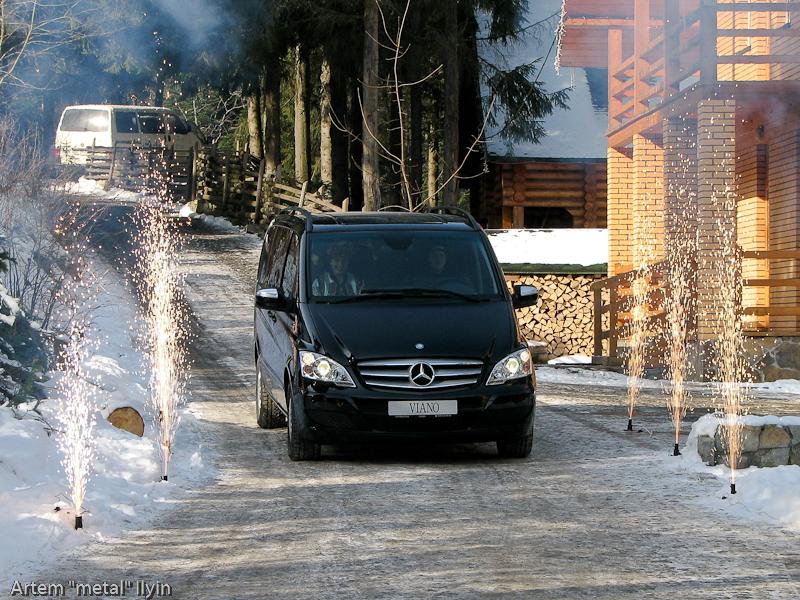 Буковель фестиваль полноприводных автомобилей презентация Mercedes Viano Карпаты