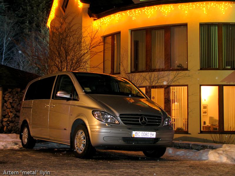 Буковель фестиваль полноприводных автомобилей полноприводный Mercedes Viano
