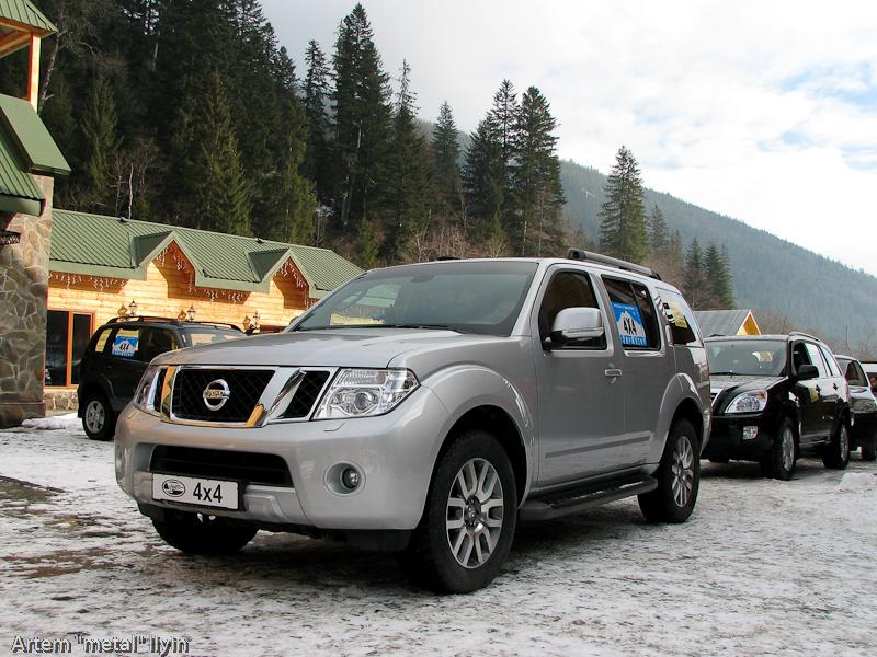 Буковель фестиваль полноприводных автомобилей Nissan Patrol Карпаты