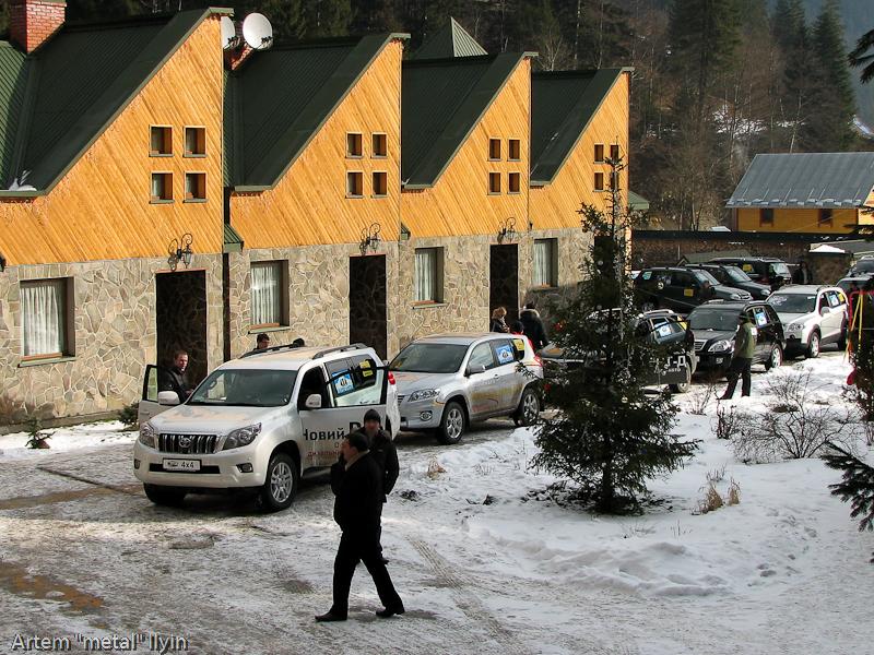 Буковель Карпаты фестиваль 4х4 колонна полноприводных автомобилей
