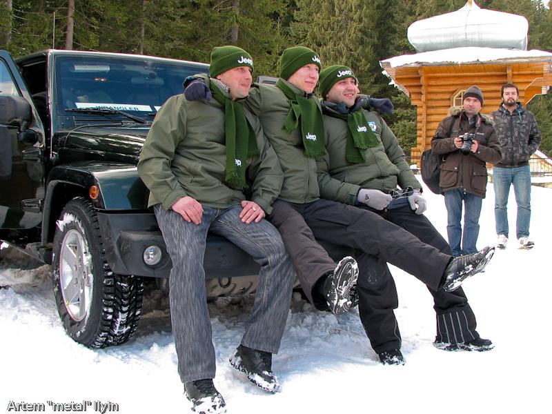 Говерла заповедник Заросляк, презентация Jeep