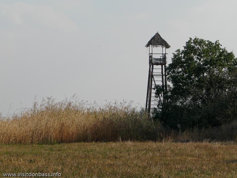 Сторожевая казацкая башня в комплексе Скифский стан. Хортица, Запорожье