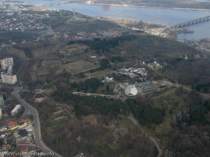 Полет над Киевом, Ботанический сад на Печерске
