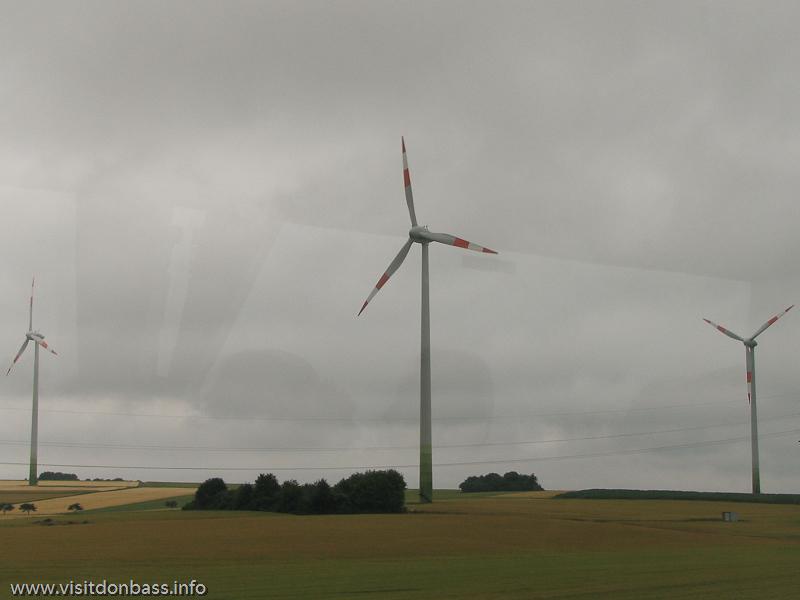Ветрогенератор в Люксембурге