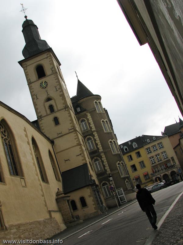 Римско-католическая церковь Сен Мишель в Люксембург-сити