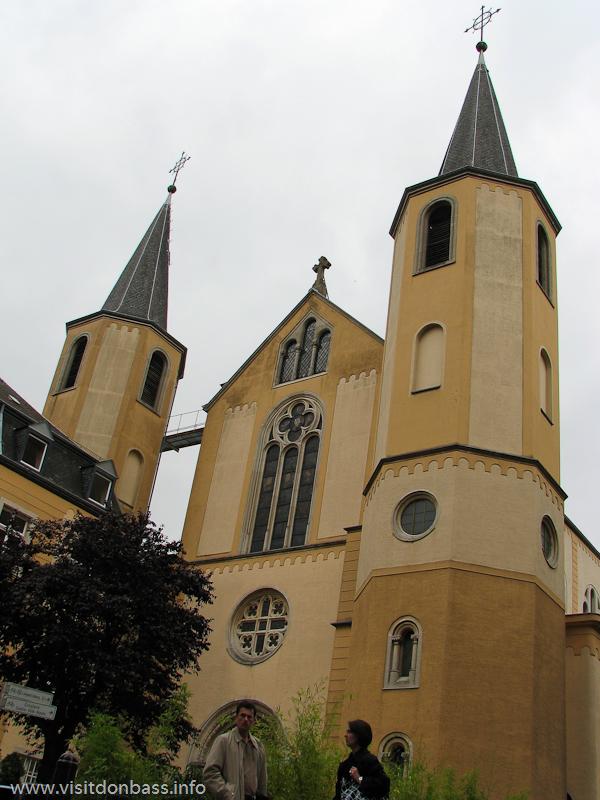 Церковь святого Альфонса в Люксембург-сити