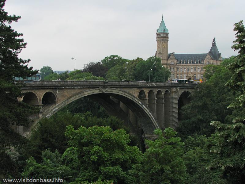 мост Адольфа или Новый мост в Люксембург-сити