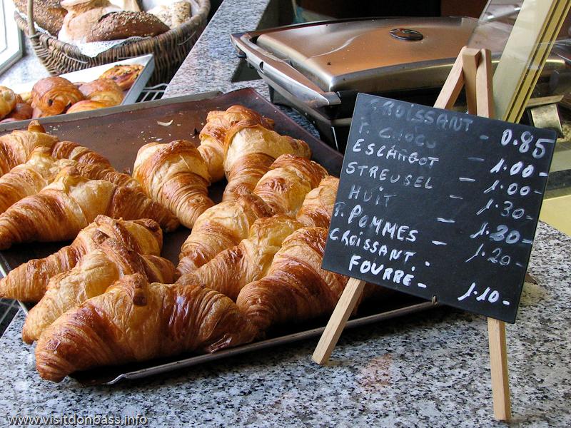 Стоимость выпечки в Люксембург-сити сопоставима с киевскими ценами