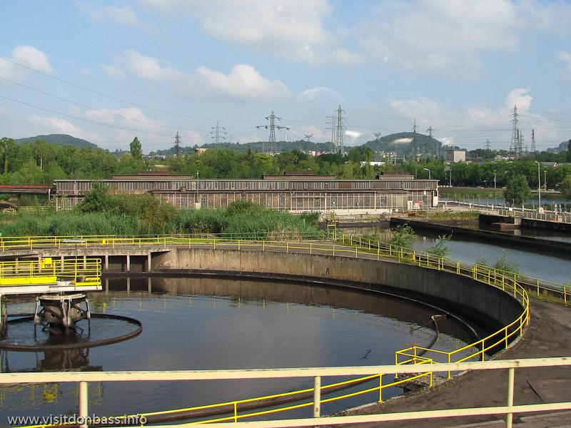 Очистные сооружения на металлургическом заводе ArcelorMittal Esch-Belval в Люксембурге