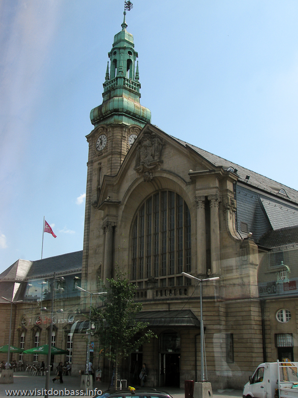 Здание железнодорожного вокзала в Люксембурге