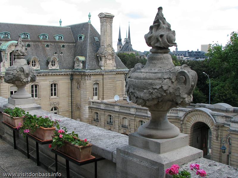 Историческое здание компании ARBED в Люксембурге