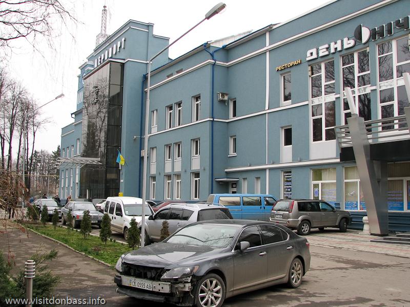 Аэропорт Черновцы. Здание международного аэровокзала