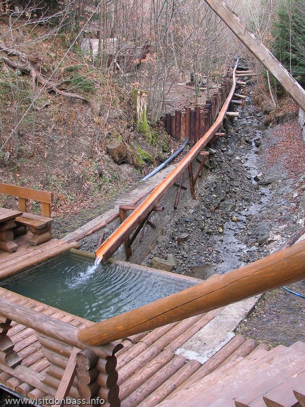 Гостиничный комплекс Мигово. Бассейн с водой из горной реки