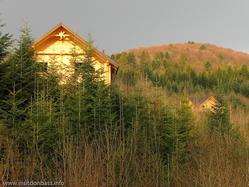 Гостиничный комплекс Мигово. Лес вырубают для привлечения туристов