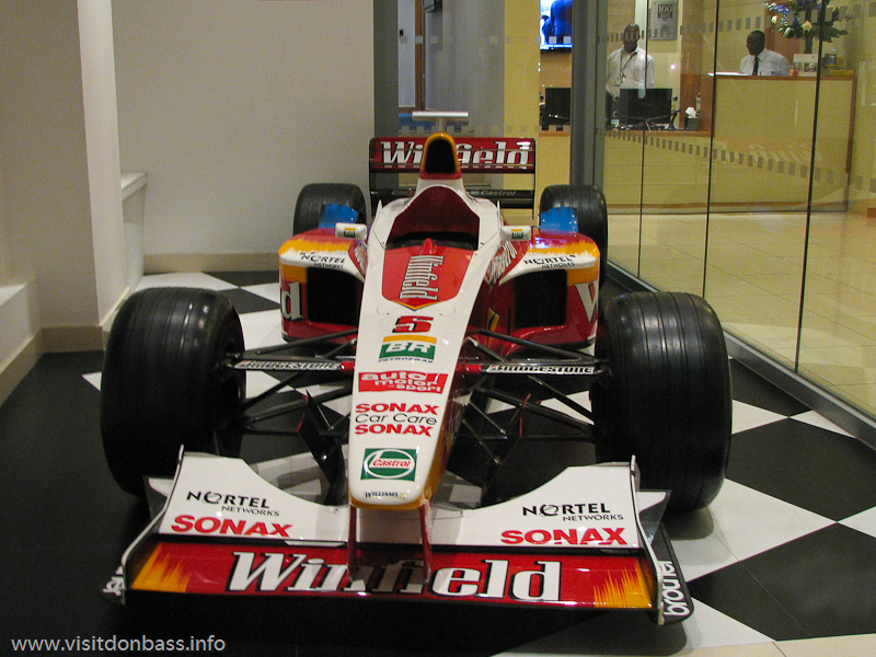 Болид команды Формулы 1 Williams в Лондоне