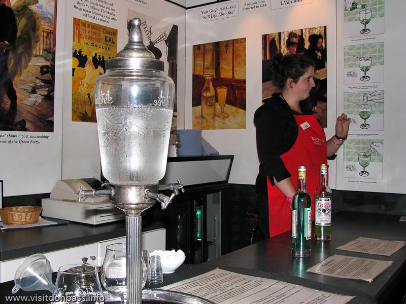 Зал, посвященный производству рома в Винополисе в Лондоне