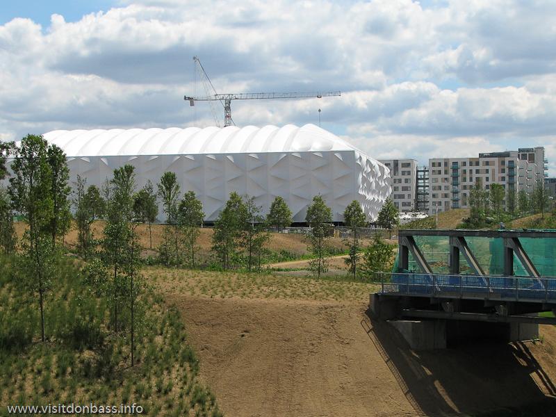 Олимпийская баскетбольная арена в Лондоне