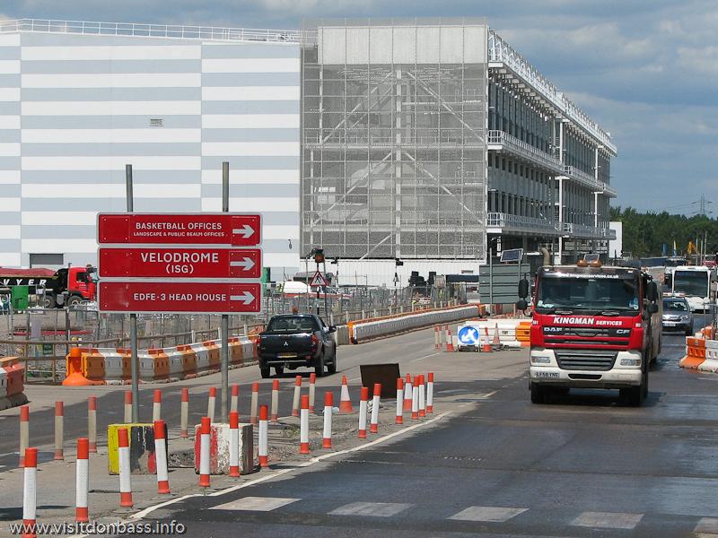 Здание с мощнейшими кондиционерами - пресс-центр Олимпиады - 2012 в Лондоне