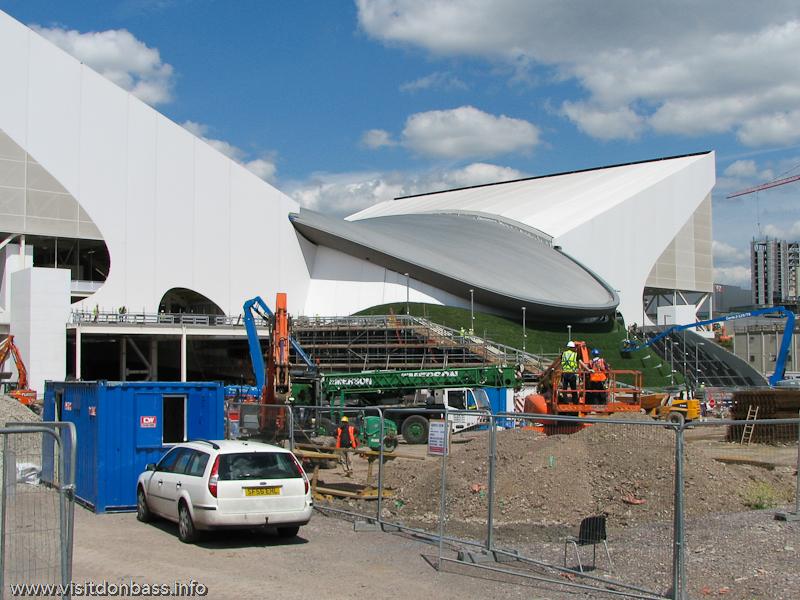 Olympic aquatic center в Лондоне