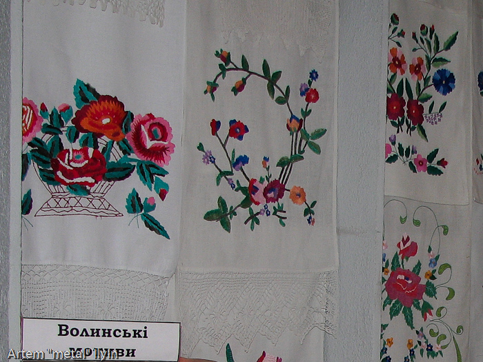 Збаражский замок, музей вышиванки