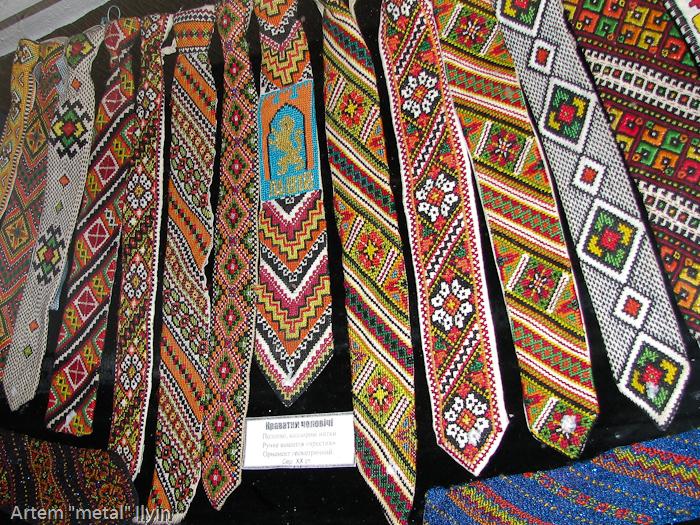 Збаражский замок, музей вышиванки, галицкие галстуки