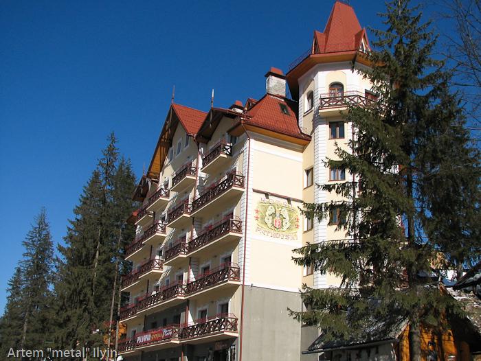 Гостиницы и садыбы. Горнолыжный курорт Буковель, Ивано-Франковская область