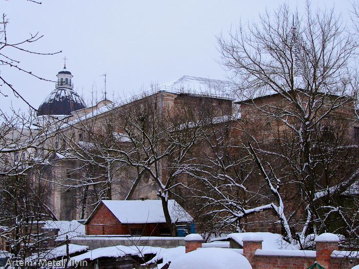Башня Чарторыйских - единственное уцелевшее строение окольного замка в Луцке