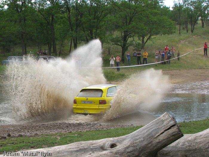 Opel Astra Валерия Вартаняна и Андрея Димова на Ралли Мариуполь 2008