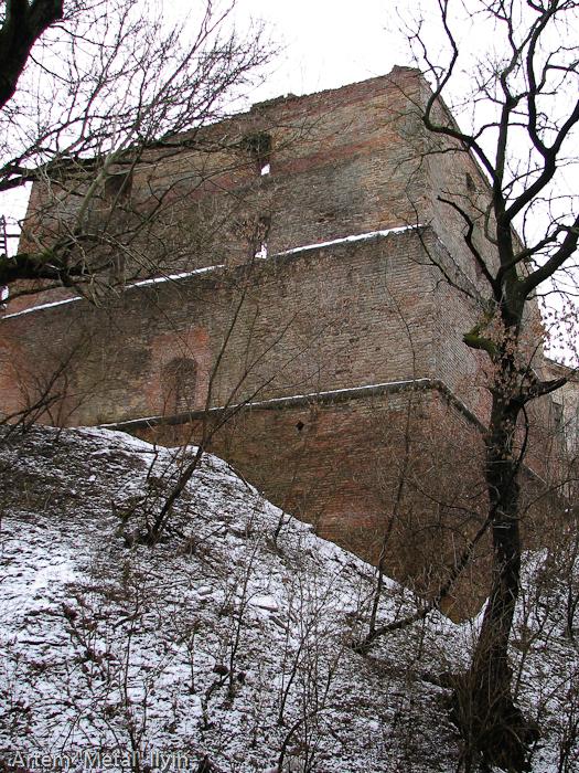 Клеванский замок Чарторыйских в Клевани, Ровенской области