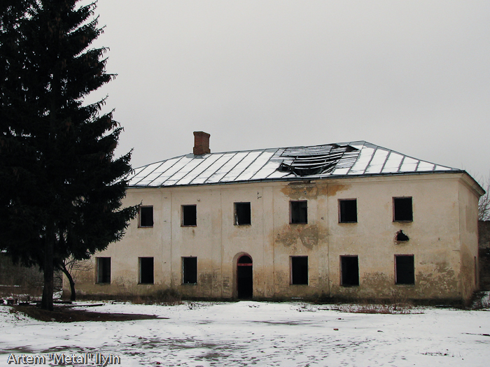 Клеванский замок Чарторыйских в Клевани, Ривненская область