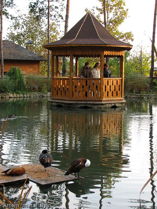 Храмово-парковый комплекс Украинское село, Николаевка, Киевская область