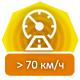 70kmh